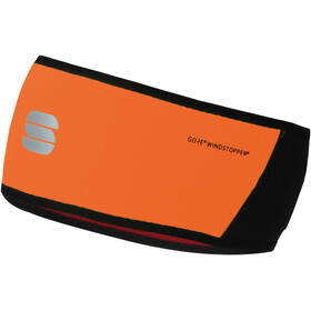 Sportful Headband, black/orange sdr